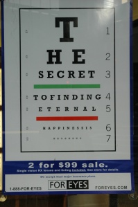 happiness eye chart